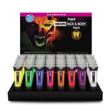 PaintGlow UV Face & Body Paint  10 x 13 ml Tubes_