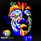 PaintGlow UV Face & Body Paint  60 x 50 ml Tubes_