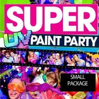 PAINTGLOW UV PAINTPARTY PAKKET 100 pers