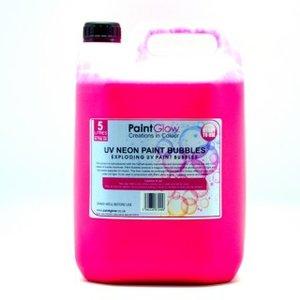PaintGlow UV Paint Bubbles 4x5Liter
